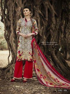 Awesome Multicolor Cambric Cotton Salwar Kameez1449