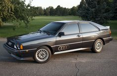 1985 Audi Quattro Turbo Coupe UrQuattro For Sale Front - haha! tempting, I had one and it was a sweet drive...