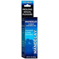 Majestic Drug Mandelay Climax Control Gel, For Men to Delay Ejaculation 1 Ounce #MajesticDrug