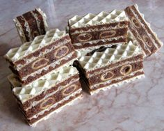 Desserts With Biscuits, Sweet Desserts, Just Desserts, Sweet Recipes, Bosnian Recipes, Croatian Recipes, Baking Recipes, Cake Recipes, Dessert Recipes