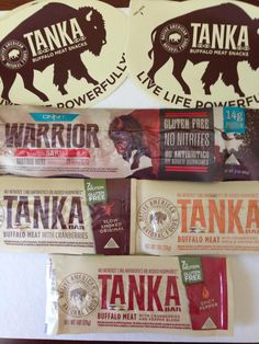 Review on #tankabar on @TblazerGirl! #healthysnacking  #glutenfree #buffalo