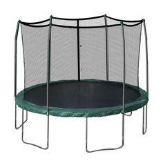 Skywalker Oval Blue Backyard Trampoline with Enclosure at Lowe's. The Skywalker Trampolines 17 Ft. Oval trampoline with enclosure provides plenty of room for safe and fun jumping activities. This trampoline features a Trampoline Parts, Trampoline Reviews, Trampoline Safety, Best Trampoline, Backyard Trampoline, Enclosed Trampoline, Toddler Trampoline, Trampoline Springs, Houses