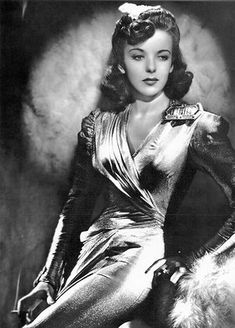 Great 40's actress AND one of the pioneer female film directors in Hollywood. Classy dame.