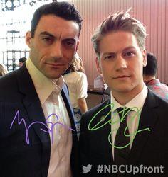 Morgan Spector and Gavin Stenhouse, from NBC 'Allegiance'