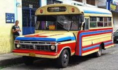 Image result for retro chicken bus