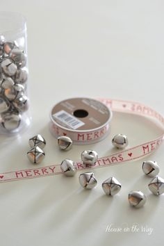 How to make Jingle Bell Garland - House on the Way