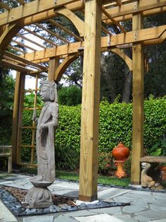 Asian Landscape Arbor Design Ideas, Pictures, Remodel, and Decor - page 5