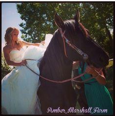 Amber Marshall wedding photo. Heartland