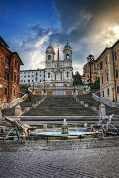Piazza di Spagna / Rome, Italy, via Flickr.