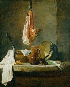 Jean-Baptiste-Simeon Chardin (Jean Baptiste Simeon Chardin) 1739