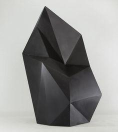 black #Sculptures by Axel Brechensbauer