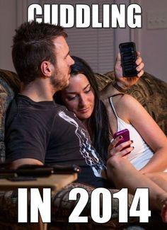 Cuddling in 2014