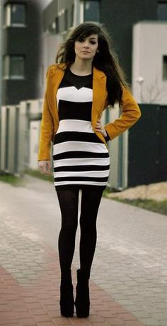 a207d494c891 Discover this look wearing Mustard Yellow Cozbest Blazers