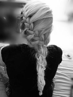 side braid + twisted.