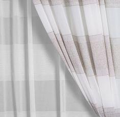 PALMERA » Dezente Farben auf hochwertiger Jacquardtechnik in Kombination mit angesagter Transparenz. #5700Chic #vorhang #gardine #store #inbetween #SONNHAUS #raumausstattung