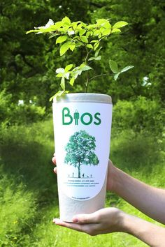 There's life, after life. The Bios Urn is a fully biodegradable urn designed to convert you into a tree after life. Mainly composed by two parts, the urn contains a seed which will grow to remember your loved one. Bios Urn turns death into a transformation and a return to life through nature.