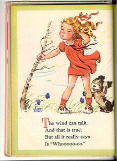 Vintage children art books | Childrens book vintage F.S. Winship illustrator -W page | Flickr ...