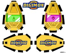 48 best digimon papercraft images on pinterest paper crafts