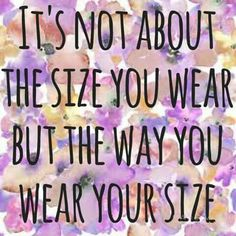 You Are Marvelous 👯 Size U0026 Age Are Just Numbers💄