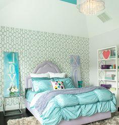 DIY Home Decor Ideas - Sophisticated, Glam, Girls Room - Click Pic for 47 Decor Ideas for Girls Rooms
