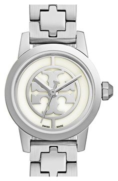 Swooning over this classic Tory Burch watch.