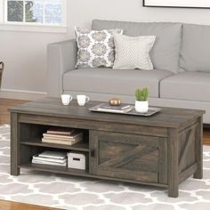 Farmhouse Coffee Tables! Discover the best farm home rustic coffee tables for your home.