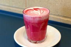 pink latte recipe, immune boosting pink latte on dr oz, brain boosting latte recipe