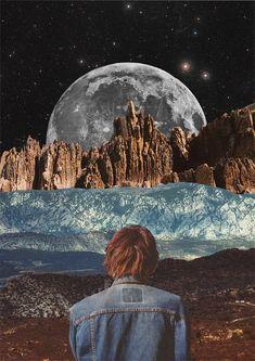 Mariano Peccinetti, Collage al infinito, Transvorder. #LandscapeCollage