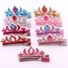 the best Fashion cartoon Tiaras hairpins for baby gilrs designer hair accessory stereoscopic crystal colored crown barrettes sale Girls Hair Accessories, Accessories Store, Boutique Stores, Hair Accessory, Girl Pictures, Hair Pins, Girl Hairstyles, New Fashion, Cool Style