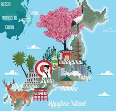 James Boast - Map of Japan