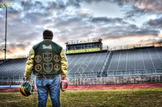 high school, football, hdr