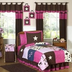 bedding Cowgirl Theme Bedrooms, Bedroom Themes, Girls Bedroom, Bedroom Decor, Bedroom Ideas, Childs Bedroom, Bedroom Rustic, Bedroom Designs, Nursery Ideas