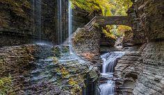 Watkins Glen State Park, New York - Unique Places around the World - WorldAtlas.com