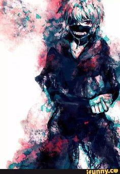 Tokyo Ghoul. Fave pic of Kaneki. Eyepatch