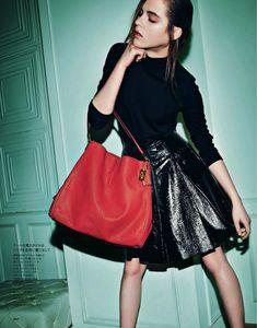 Rasa Zukauskaite for Elle Japan September 2013 by Tak Sugita | The Fashionography
