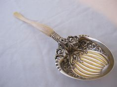 WHITING IVORY BERRY SPOON