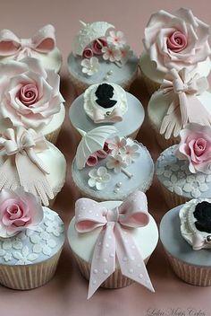 Wedding Cakes Vintage Cupcakes