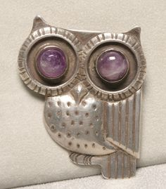Jewelry & Watches Owl Pin 925 Silver Thousandths Pins Elegant And Sturdy Package