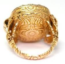 Image result for gold engraved cocktail rings