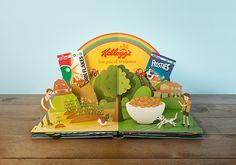 Kellogg's Story Book by additive studios, via Behance