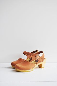Fine Life Co | Dolly Clog in Cognac
