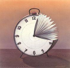 Illustrations about books - Gurbuz Dogan Eksioglu - Time well spent