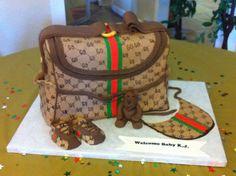 Gucci Cake Diaper Bag