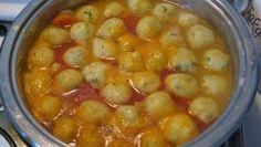 Jedinečná polievka so zemiakovými knedličkami ako od Babičky pripravená za 10 minút! - Recepty od babky