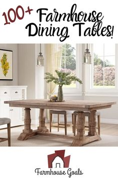 Discover the top-rated farm home dining table sets and rustic dining tables. When you are looking for farmhouse dining room furniture, you will find it here. Farmhouse Bedroom Furniture Sets, Farmhouse Dining Room Table, Dining Tables, Dining Room Furniture, Top Rated, Goals, Rustic, Dinning Room Tables, Dining Room Tables