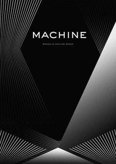 Typographic illustration for Brooklyn Machine Works Calligraphy Text, Anniversary Logo, Architecture Panel, Parametric Design, Minimal Poster, Blue Design, Bookbinding, Magazine Design, Graphic Design Inspiration