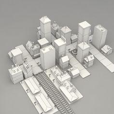 3d city buildings 2 model