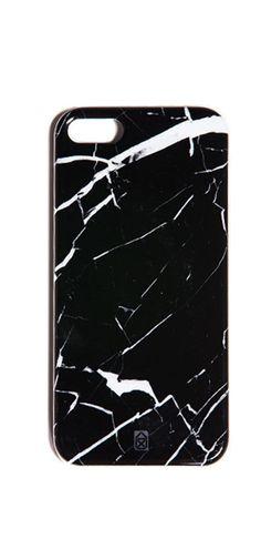 CASE SCENARIO - Element iPhone 5 Cover Black Marble