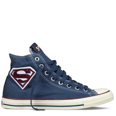 Converse - Chuck Taylor DC Comics- Superman - Hi - Athletic Navy