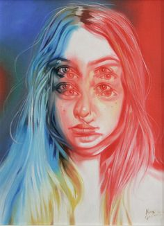 Way Up Oil on canvas by Alex Garant. Painting size: x cm x This painting is framed. See Alex Garant's available art and biography. Arte Inspo, Kunst Inspo, Alex Garant, Drugs Art, Effects Photoshop, Photoshop Brushes, Adobe Photoshop, A Level Art, Eyes